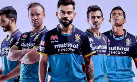 IPL 2021: ಈ ಬಾರಿ ಹೊಸ ಜೆರ್ಸಿಯಲ್ಲಿ ಕಣಕ್ಕಿಳಿಯಲಿದೆ ಆರ್ಸಿಬಿ: ರಿವೀಲ್ ಮಾಡಿತು ಫ್ರಾಂಚೈಸಿ