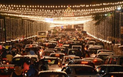 Traffic Congestion Takes Sheen Off Illumination