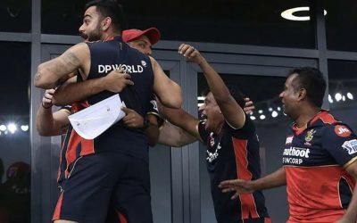 Watch: Wild Celebrations In RCB Camp After Srikar Bharat's Match-Winning Six Against Delhi Capitals
